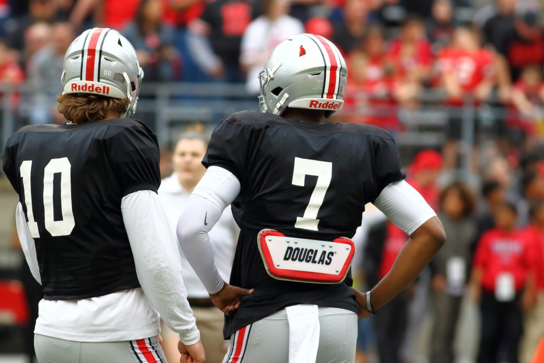 Gallery Scarlet Takes On Gray In The 2018 Osu Spring Game 1870 Mag