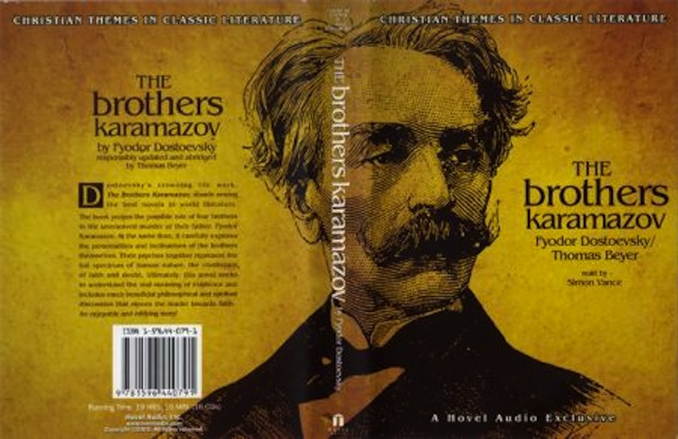 a character analysis of dostoevskys novel the brothers karamazov